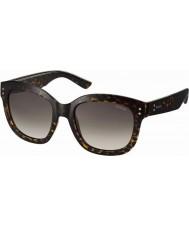 Polaroid Mens pld4035-s 086 94 donkere havana gepolariseerde zonnebril