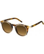 Marc Jacobs Marc 18-s u6j zx havana gouden zonnebril