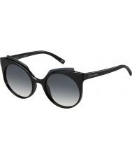 Marc Jacobs Ladies marc 105-s D28 9o glanzende zwarte zonnebril