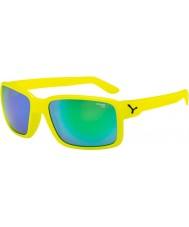 Cebe Dude neon geel groene zonnebril