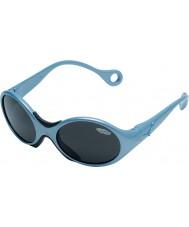 Cebe 1973 (1-3 jaar) glanzende metallic lichtblauwe 2000 grijze zonnebril