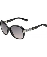 Jimmy Choo Ladies alana-s D28 eu glanzende zwarte zonnebril