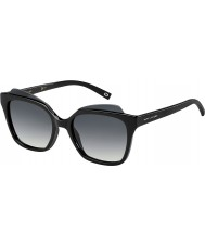 Marc Jacobs Ladies marc 106-s D28 9o glanzende zwarte zonnebril