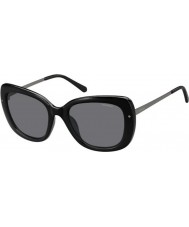 Polaroid Ladies pld4044-s cvs Y2 zwart ruthenium gepolariseerde zonnebril