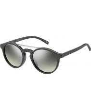 Marc Jacobs Marc 107-s DRD gy donkergrijs zilveren spiegel zonnebril