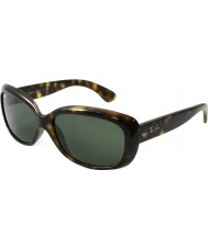 RayBan Rb4101 58 jackie ohh licht schildpad 710 zonnebril