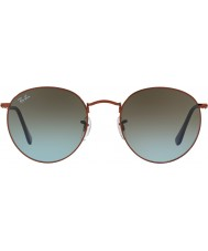 RayBan Rb3447 53 ronde metalen glanzend donker brons 900.396 zonnebril
