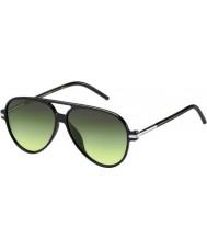 Marc Jacobs Marc 44-s D28 ib glanzende zwarte zonnebril