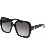 Gucci Dames gg0096s 001 zonnebril
