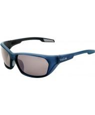 Bolle Aravis mat blauw gepolariseerde tns gun zonnebril