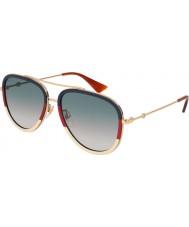 Gucci Dames gg0062s 013 57 zonnebrillen
