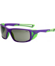 Cebe ProGuide paars groen variochrom piek zonnebril