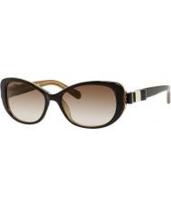 Kate Spade New York Ladies chandra-s y1G y6 havana gouden zonnebril