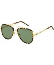 Marc Jacobs Mens marc 136-s LSH dj gespot havana gouden zonnebril