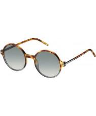 Marc Jacobs Mens marc 48-s TMV vk gespot havana grijs gearceerd zonnebril