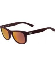 Lacoste L790s matte bordeaux zonnebril