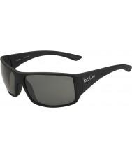 Bolle Australische Tijgerslang glanzende zwarte gepolariseerde tns zonnebril