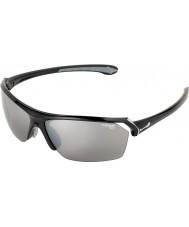 Cebe Wilde glanzende zwarte zonnebril