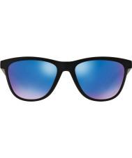 Oakley Oo9320-11 beunhaas matzwart - saffier iridium gepolariseerde zonnebril