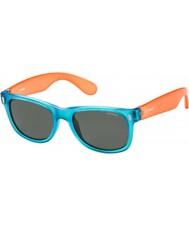 Polaroid Kids P0115 89T y2 blauw oranje gepolariseerde zonnebril
