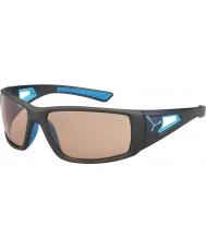 Cebe Session mat grijs blauwe variochrom Perfo zonnebril