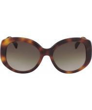 Longchamp Dames lo601s 214 55 zonnebrillen