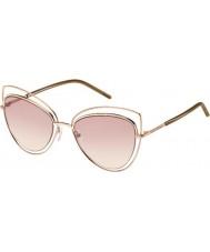 Marc Jacobs Ladies marc 8-s TXA 05 gouden bruine zonnebril