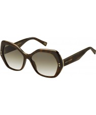 Marc Jacobs Ladies marc 117-s zy1 cc havana zonnebril