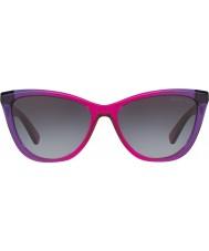 Michael Kors Mk2040 57 divya violet paars gradiënt 322.011 zonnebrillen