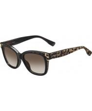 Jimmy Choo Ladies bebi-s PUE J6 dier zwarte zonnebril