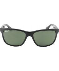RayBan Rb4181 57 Highstreet zwarte 601-9a gepolariseerde zonnebril