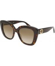 Gucci Dames gg0327s 002 52 zonnebrillen