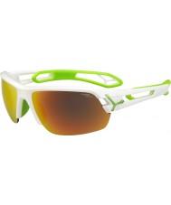 Cebe Cbstm11 s-track witte zonnebril