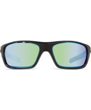 Revo Re4073 gids ii glanzend zwart - groen water gepolariseerde zonnebril