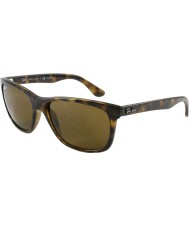 RayBan Rb4181 57 Highstreet licht schildpad 710-83 gepolariseerde zonnebril