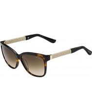 Jimmy Choo Ladies cora-s FA5 jd havana glitter zonnebril