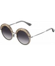 Jimmy Choo Ladies gotha-s 68i 9c 50 naakt palladium zonnebril