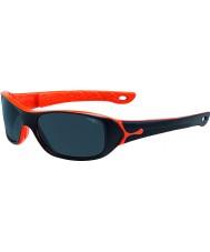 Cebe S-Picy (leeftijd 7-10) mat zwart oranje zonnebril