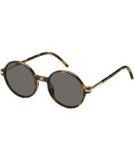Marc Jacobs Mens marc 48-s TLR 8h havana zonnebril