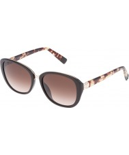 Furla Dames college su4905r-0d84 glanzend vol bruine zonnebril