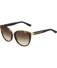 Jimmy Choo Ladies dana-s 112 jd havana zonnebril