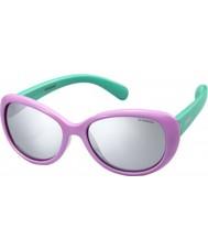 Polaroid Kids pld8004-s t5f jb lila gepolariseerde zonnebril