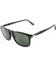 Persol Po3059s 54 Suprema zwart 95-31 zonnebril
