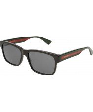 Gucci Gg0340s 006 58 zonnebril voor mannen