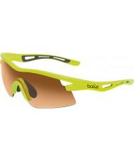 Bolle Vortex neon gele modulator oranje zonnebril
