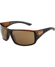 Bolle 12134 bruine zonnebril met tijgerslang