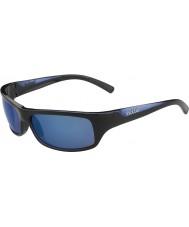 Bolle Fierce glanzend blauw gepolariseerde offshore-blauwe zonnebril