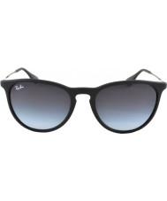 RayBan Rb4171 54 Erika rubber zwart 622-8g zonnebril