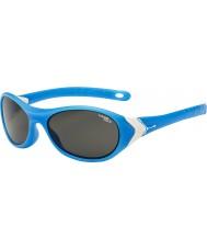 Cebe Cricket (leeftijd 3-5) mat cyaan wit 1500 grijs blauw licht zonnebril