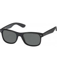 Polaroid Pld1015-s D28 y2 glanzend zwart gepolariseerde zonnebril